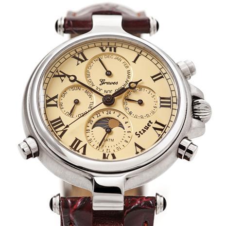 Stauer Graves '33 Wristwatch & 2 $100 Coupons Stauer Online Discount