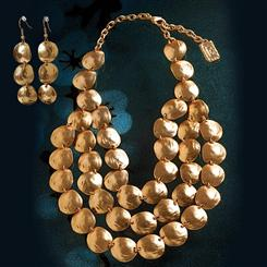 Bezons Necklace & Earrings Set