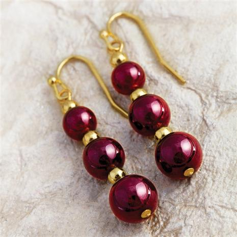 Aphrodisia Garnet Earrings
