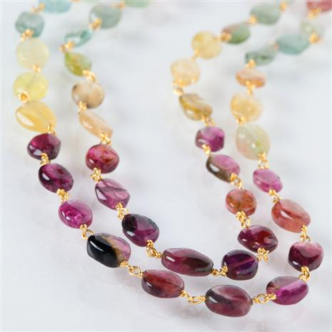 Radia Tourmaline 2-strand Necklace