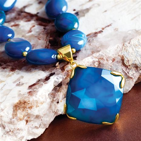 Caspian Agate Necklace
