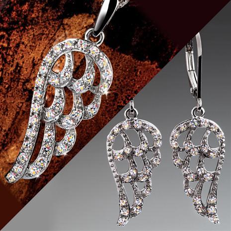 Archangel Necklace & Earrings Set Stauer Online Discount