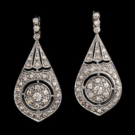French Cabaret Earrings Stauer Online Discount