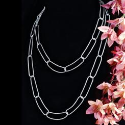 Stauer Strata Sterling Silver Necklace