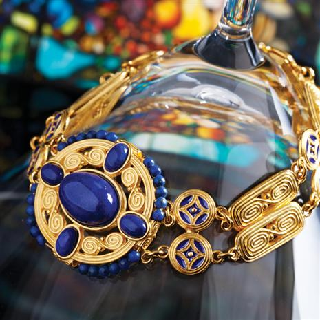Louis Comfort Tiffany Arts & Crafts Bracelet Stauer Online Discount