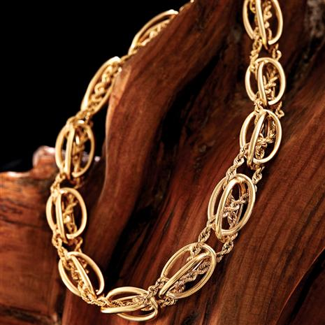 14K Gold Cordelera Bracelet Stauer Online Discount