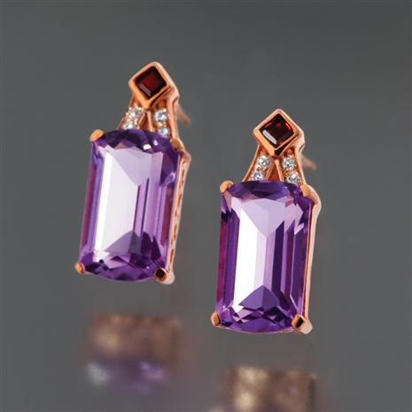 Artesia Amethyst Earrings