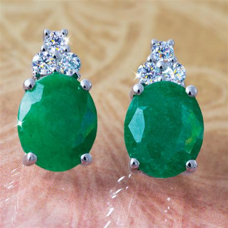 Isle Emerald Earrings