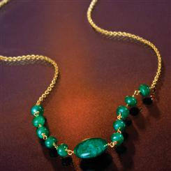 Spring Emerald Necklace