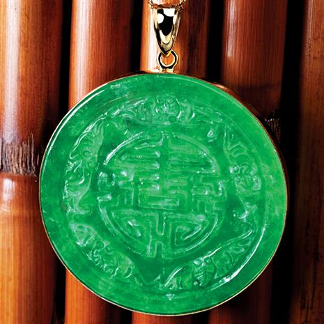 Jade Longevity Necklace Stauer Online Discount