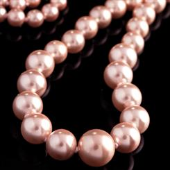 Voléur Pink Pearl Necklace with 14K Gold Clasp