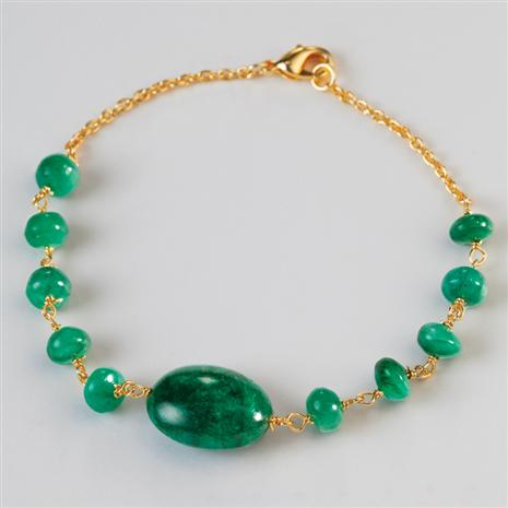 Emerald Bracelet Stauer Online Discount
