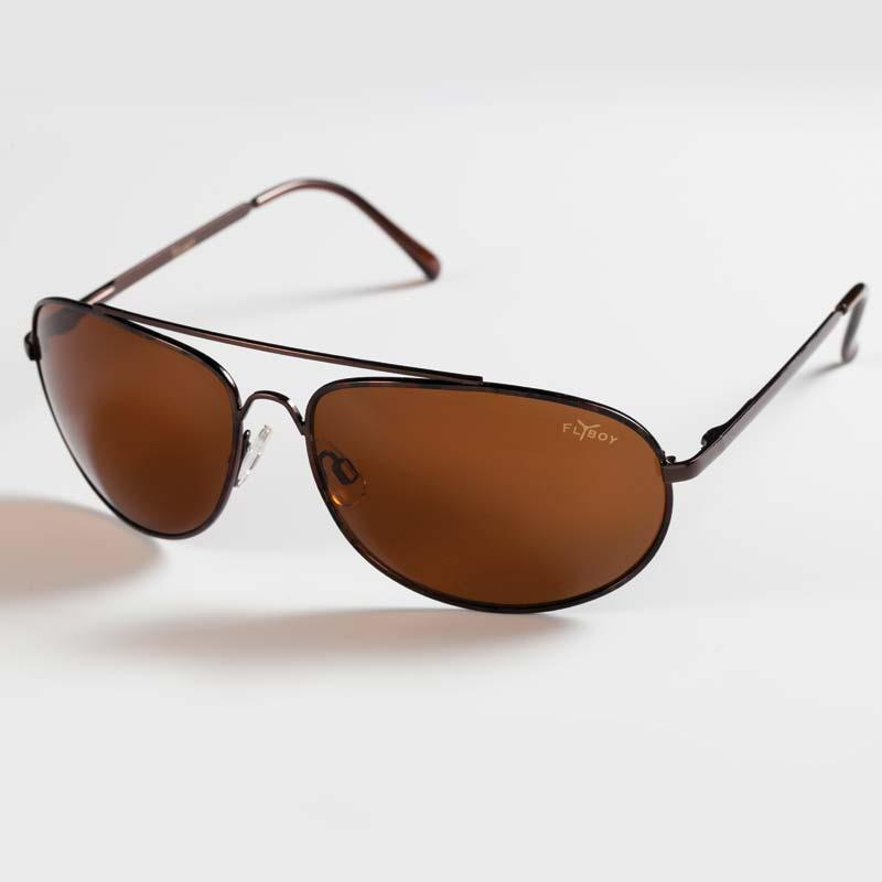 Copper Flyboy Sunglasses with UV400 Lens