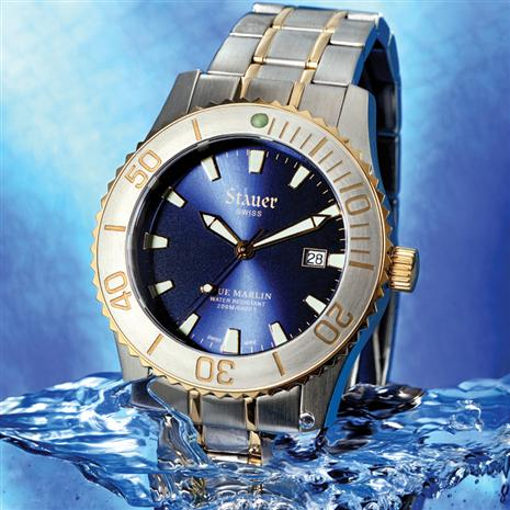 Swiss Blue Marlin Watch