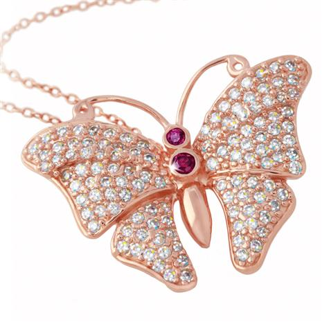 SUMMER'S GRACE BUTTERFLY PENDANT