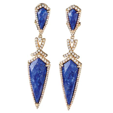 LUXOR LAPIS LAZULI EARRINGS