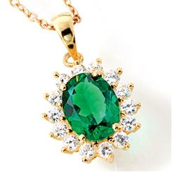 House of Windsor Scienza® Emerald Necklace