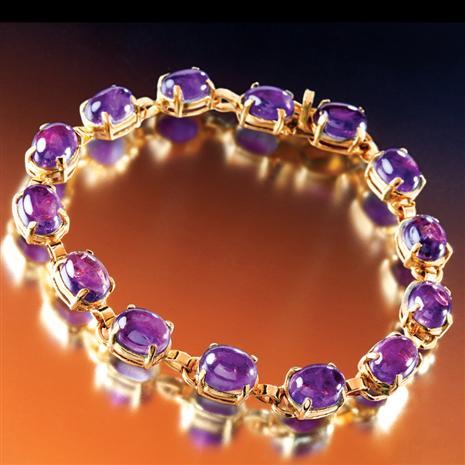 Ora Amethyst Bracelet Stauer Online Discount