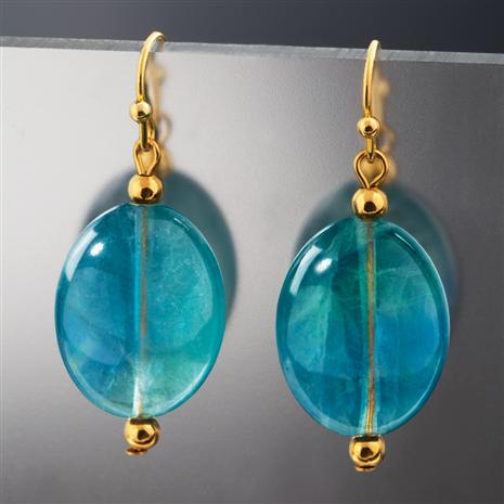 Natural Balance Fluorite Earrings Stauer Online Discount