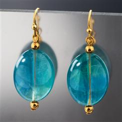 Natural Balance Fluorite Earrings