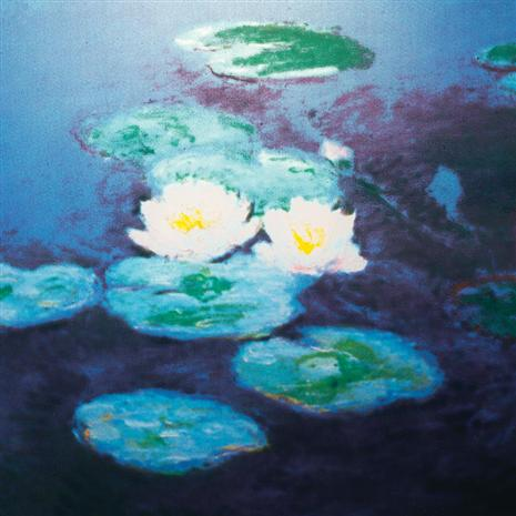 WATERLILIES STAINED GLASS