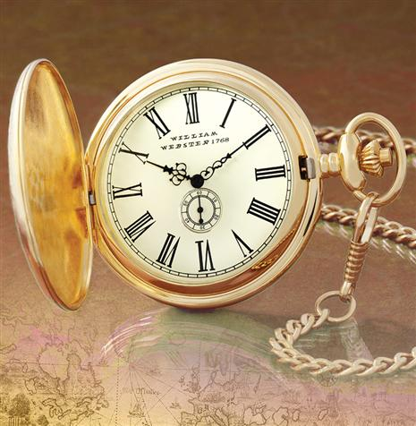 William Webster 1768 Pocket Watch