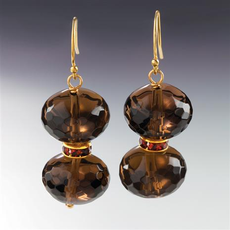 Highland Honours Smoky Quartz Earrings Stauer Online Discount