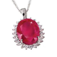 Passione Ruby 10-Carat Necklace