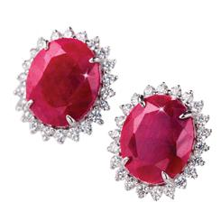 Passione Ruby Earrings