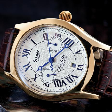 Stauer Presidio Ii Automatic Watch & 4 $50 Coupons Stauer Online Discount