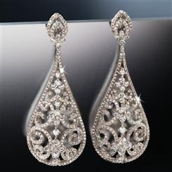 DiamondAura® Drop Earrings