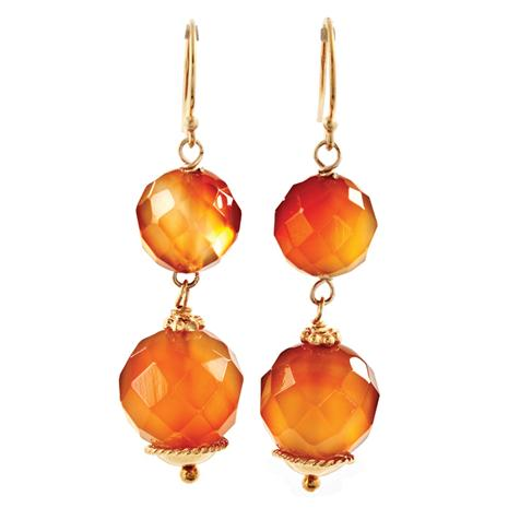 Carnevale Agate Earrings Stauer Online Discount