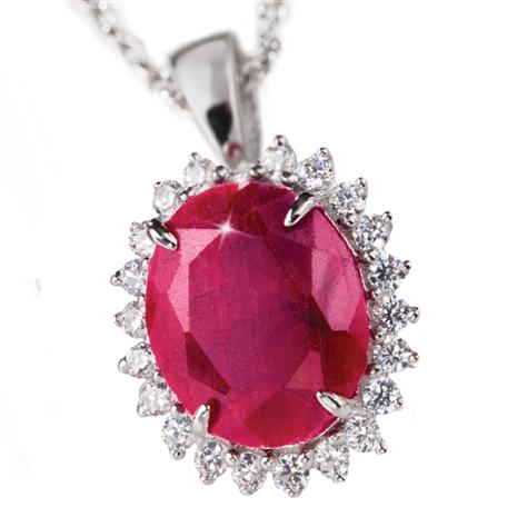 Passione Ruby & DiamondAura 5-carat Necklace