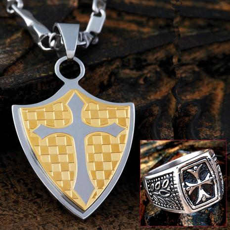 STAINLESS STEEL CHIVALRY SET
