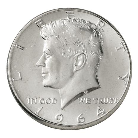 1964 KENNEDY Brilliant Uncirculated
