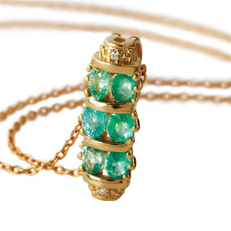 Pride of Zambia Emerald Necklace