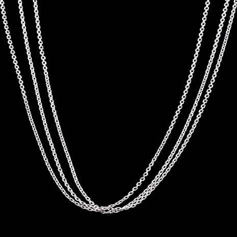 3-Strand Sterling Silver Cable Chain