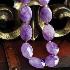 Fortunate 500 Amethyst Necklace