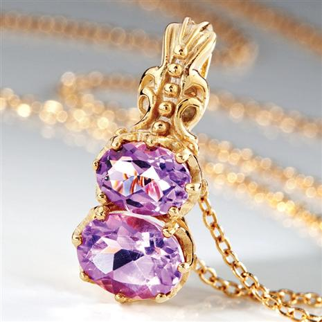 Ana Luiza Amethyst Necklace