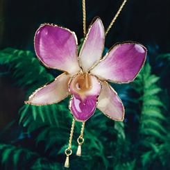 Thai Orchid Necklace