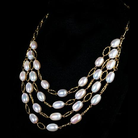 Stauer Venus Pearl Necklace