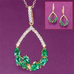 Pride of Zambia Necklace & Earrings Set