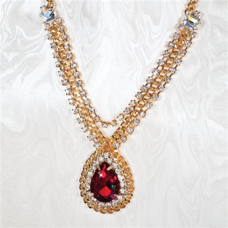 Ravishing Red Necklace
