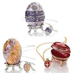 Imperial Eggs & Pendants- Set of 3