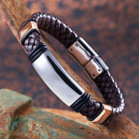 Renegade Leather Bracelet