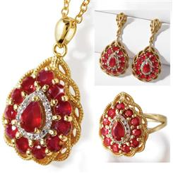 Fire & Ice Ruby and Diamond Collection
