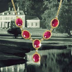 Mirasol Ruby Necklace