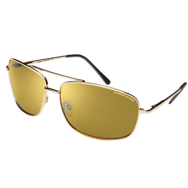 597df9b90cae Eagle Eyes Trilenium Gold Polarized Sunglasses. Eagle Eyes Polarized  Daytime Driving Glasses for the Polaris Slingshot