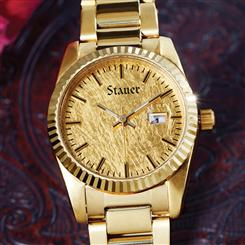 Midas 24K Gold-Leaf Womens Watch