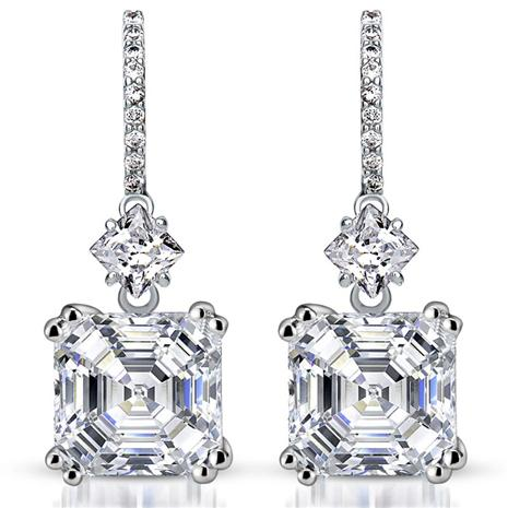 Amsterdam Diamondaura Drop Earrings